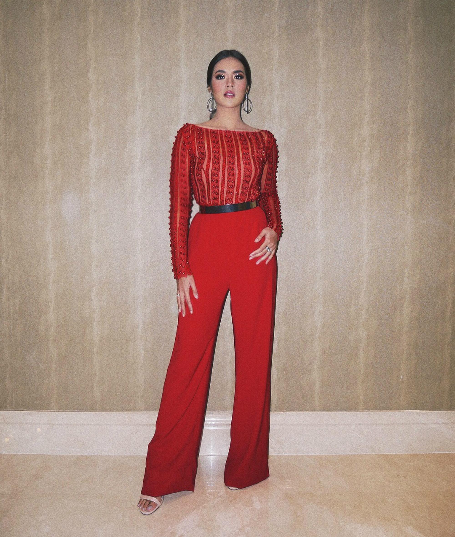 inspirasi outfit malam tahun baru - blouse