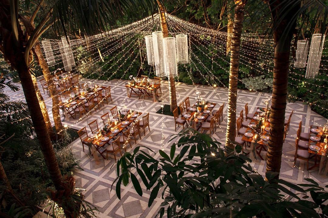 dining wedding hotel